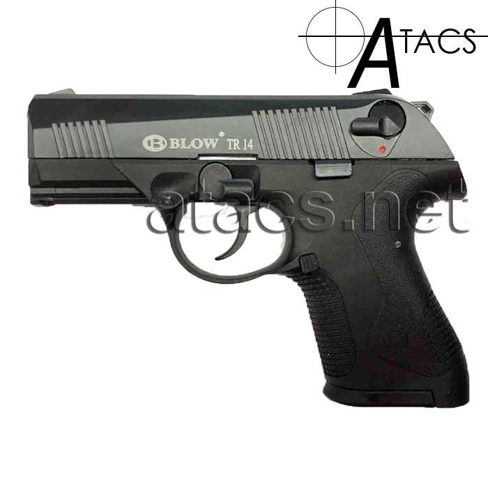 Пистолет стартовый BLOW TR 14 (CARRERA RS-30) с дополнительным магазином