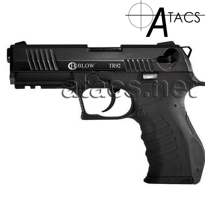 Пистолет стартовый BLOW TR 92 (CARRERA GT-50) с дополнительным магазином