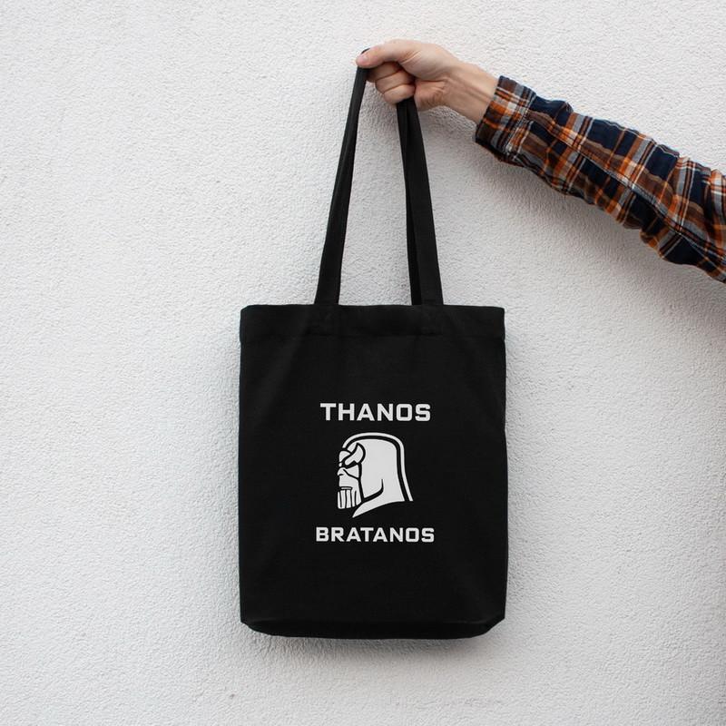 """Экосумка MARVEL """"Thanos bratanos"""""""
