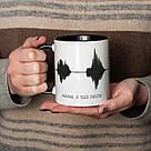 """Чашка с надписью """"Мама, я тебя люблю"""", 330 мл подарочная керамическая, фото 3"""