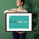 """Постер """"Картина голосом"""" персонализированный А2, фото 3"""