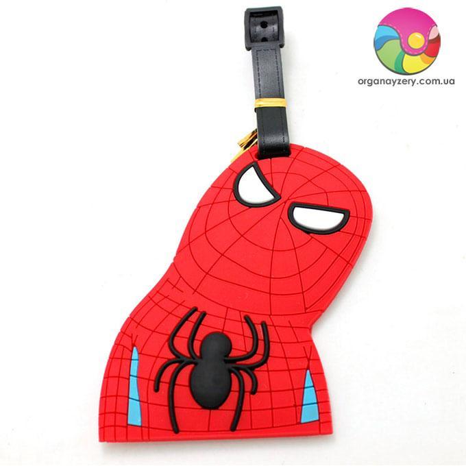 Бирка для багажа - Человек-паук висит