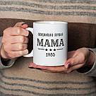 """Чашка с надписью """"Официально лучшая мама"""" персонализированная, 330 мл подарочная керамическая, фото 3"""