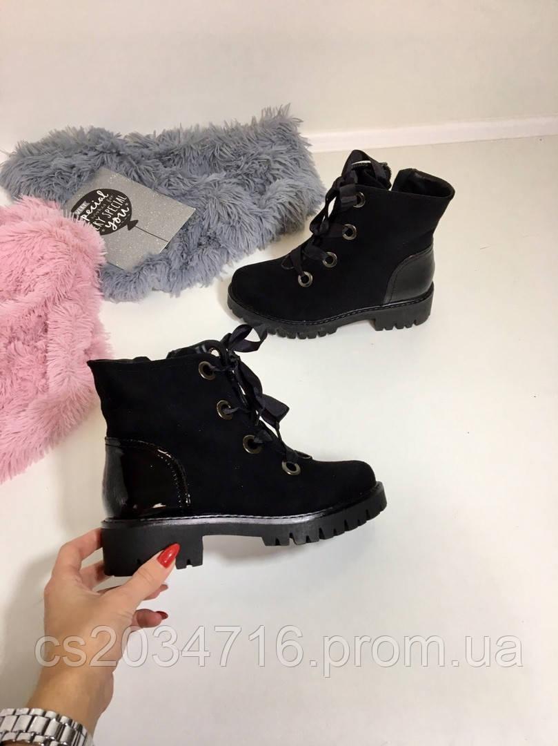 Женские ботиночки на  осень 36 р