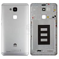 Задняя панель корпуса (крышка аккумулятора) для Huawei Ascend Mate 7 JAZZ-L09 Оригинал Белый С боковыми кнопками, без лотка SIM-карты