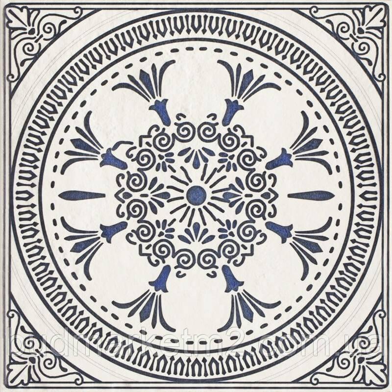 Плитка PARADYZ Sevilla Azul Dekor D Декор 19,8x19,8