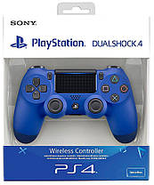 Геймпад PS4 Dualshock 4 V2 Blue, фото 3