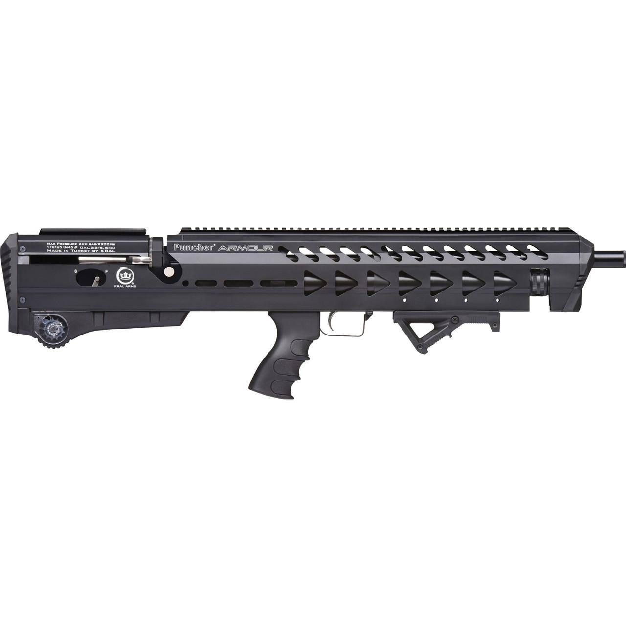Винтовка пневматическая Kral Puncher Armour PCP 4.5 мм