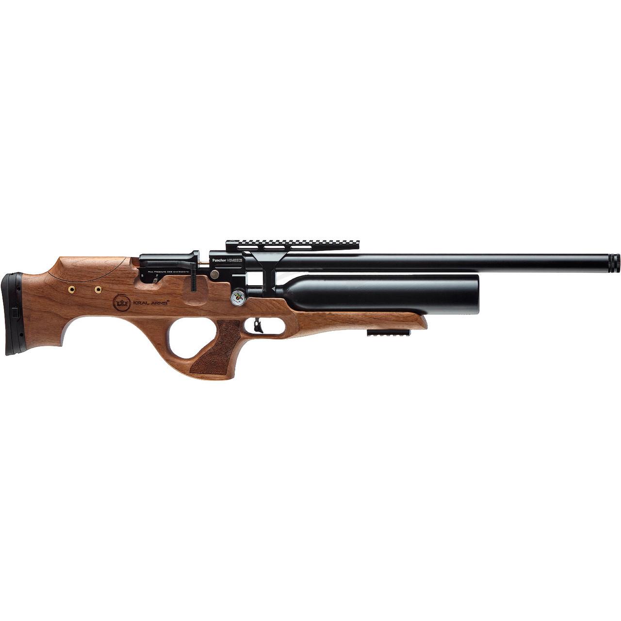 Гвинтівка пневматична Kral Nemesis Wood PCP 4.5 мм