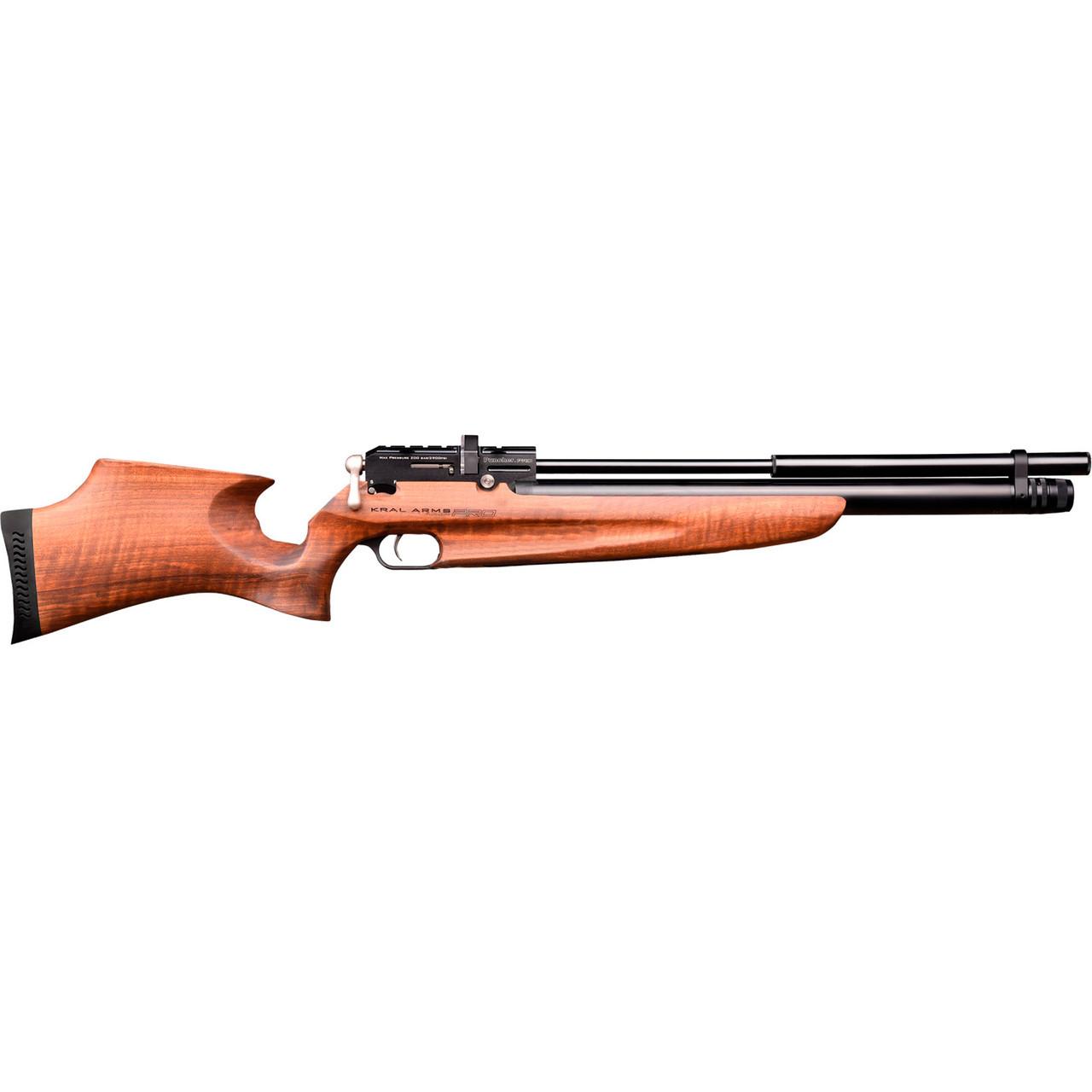 Гвинтівка пневматична Kral Puncher Pro Wood PCP 4,5 мм з глушником