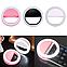🔥 Светодиодное селфи кольцо с батарейкой Selfie Ring Light Цвета Белый, Синий, фото 4