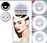 🔥 Светодиодное селфи кольцо с батарейкой Selfie Ring Light Цвета Белый, Синий, фото 6