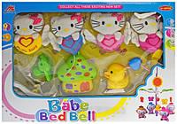 Детский Мобиль на Кроватку Hello Kitty