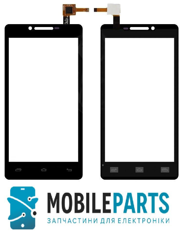 Сенсор (Тачскрин) для Prestigio 5500 MultiPhone PAP Duo (Черный) Оригинал Китай