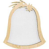Заготівка для вишивання нитками FLH-024, 8.5*9.5 см