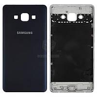 Задняя панель корпуса (крышка аккумулятора) для Samsung Galaxy A7 (A700F, A700H) Оригинал Синий