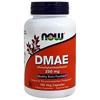 Диметиламиноэтанол Now Foods DMAE 250 мг 100 капсул