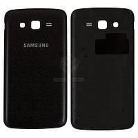 Задняя панель корпуса (крышка аккумулятора) для Samsung Galaxy Grand 2 Duos G7102 Оригинал Черный