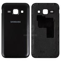 Задняя панель корпуса (крышка аккумулятора) для Samsung Galaxy J1 J100H Оригинал Синий