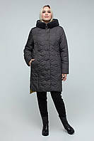 Теплая куртка больших размеров, в разных расцветках
