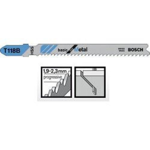 Пильное полотно Bosch Basic for Metal T 118 B 1шт