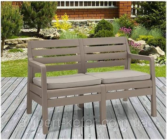 Набор садовой мебели Delano 2 Seater Bench из искусственного ротанга