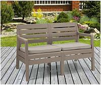 Набор садовой мебели Delano 2 Seater Bench из искусственного ротанга, фото 1