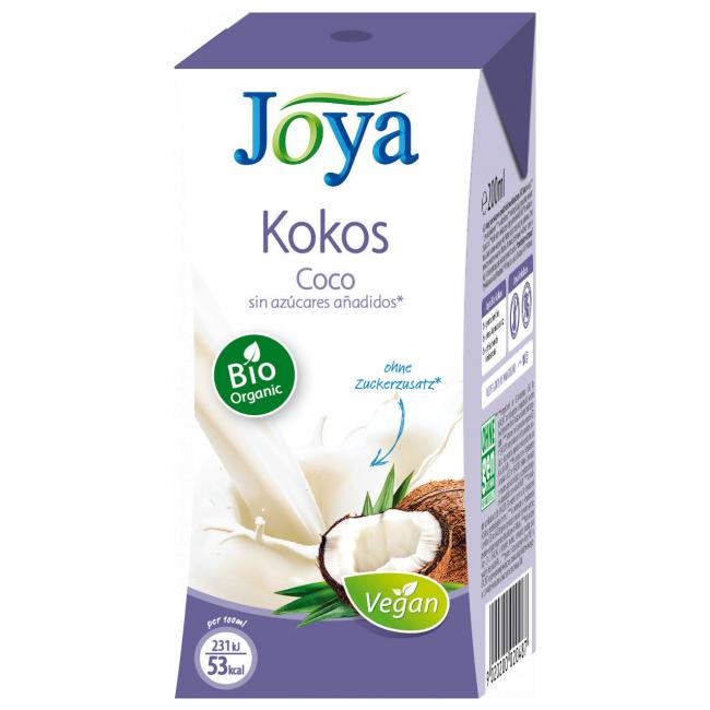 Напиток кокосовый без сахара Joya, 200мл