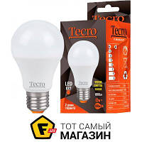 Бытовая светодиодная (led) лампа стандартная (груша) е27 (стандарт) / 12 / 220 в — теплый — мгновенное включение без перегрузки сети, защита от