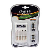 Зарядное устройство с ААА аккумуляторами Jiabao Digital Charger JB-212 AA/AAA
