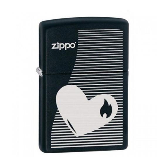 Зажигалка Zippo Heart Lines, 28549
