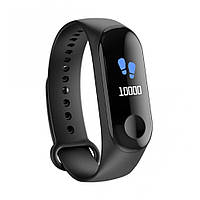 Фитнес-браслет Smart Bracelet M3 Черный (G101001182)