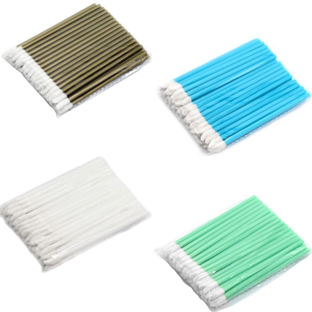 Одноразовые кисточки для макияжа, аппликатор для губной помады, макробраши в пакете цвет по наличию, 50 шт, фото 1