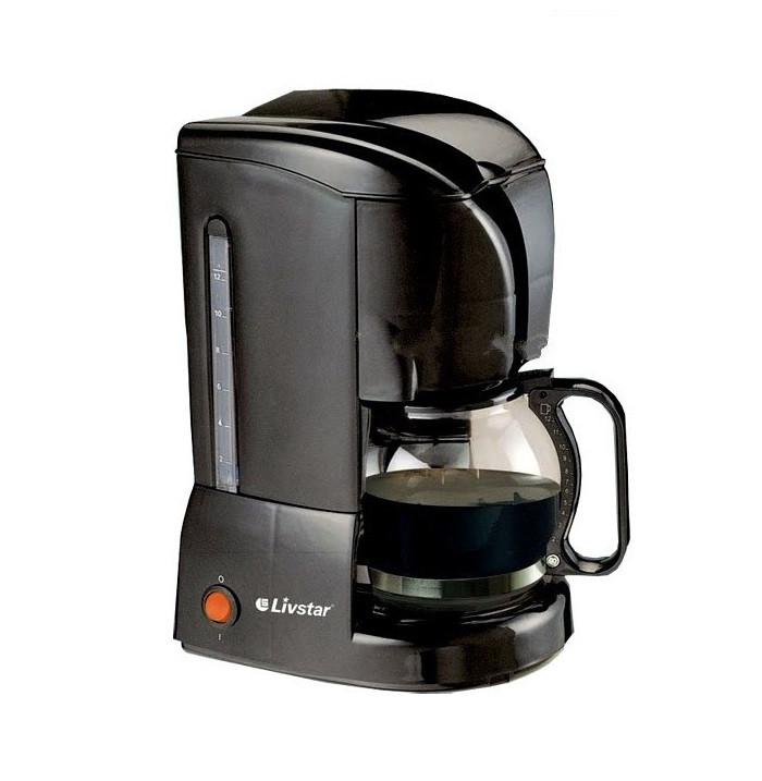 Кофеварка капельная Livstar LSU-1188 на 10-12 чашек (Черная)