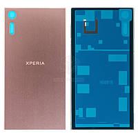 Задняя панель корпуса (крышка аккумулятора) для Sony Xperia XZ F8331, Xperia XZ Dual F8332 Оригинал Розовый