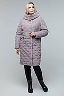 Теплая стеганная куртка больших размеров, в разных расцветках