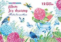 Альбом для малювання на скобі, 12 аркушів