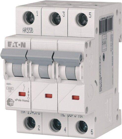 Автоматичний вимикач HL-B20/3р 3 полюси 20А х-ка В xPole Home EATON