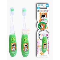Зубная щетка Dentissimo Kid Timer 3-6 лет (зеленая) 26797
