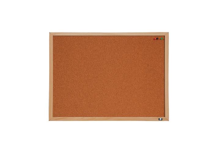 Дошка коркова Optima, розмір 45х60 см, MDF рамка