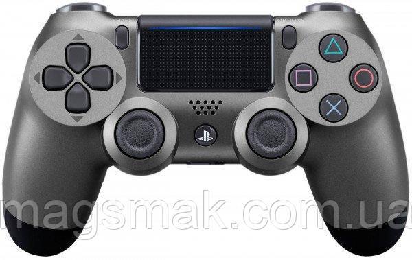 Геймпад PS4 Dualshock 4 V2 Steel Black