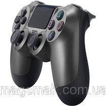 Геймпад PS4 Dualshock 4 V2 Steel Black, фото 2