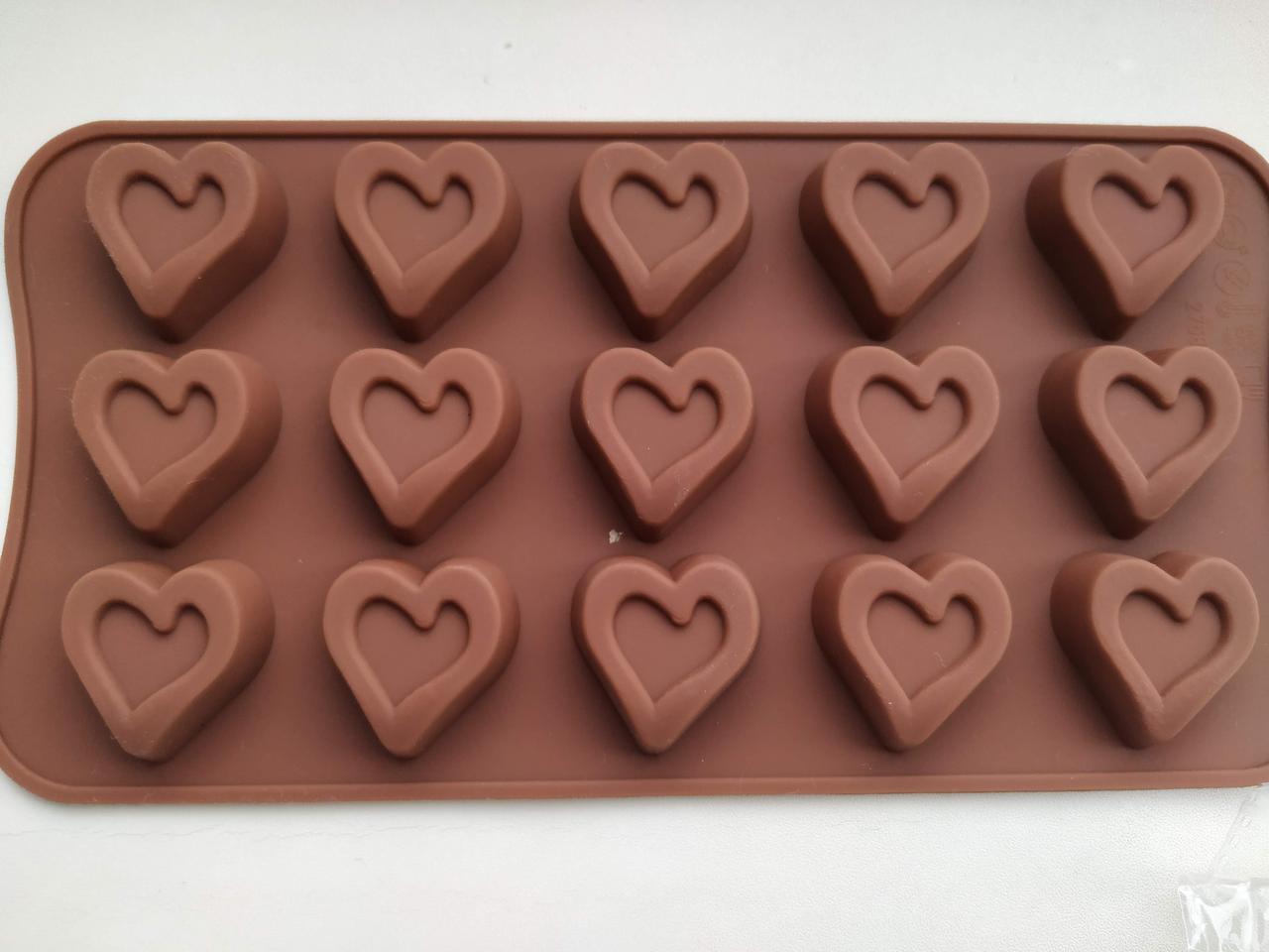 Форма для шоколада, конфет Сердце