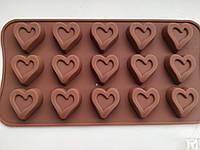 Форма для шоколада, конфет Сердце, фото 1