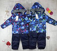 Детские комбинезоны зимние для мальчиков J-107, фото 1