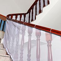 Защитная сетка от детей на лестницу, балкон 500*80 см. Белая