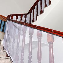Защитная сетка от детей на лестницу,балкон 500*80 см. Белая