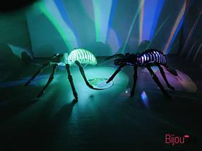 Декоративный светящийся паук для украшения интерьера на Хеллоуин, фото 3