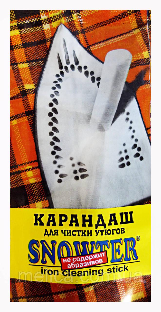 Карандаш для чистки утюгов Snowter без абразивов для тефлоновых покрытий - 25 г.
