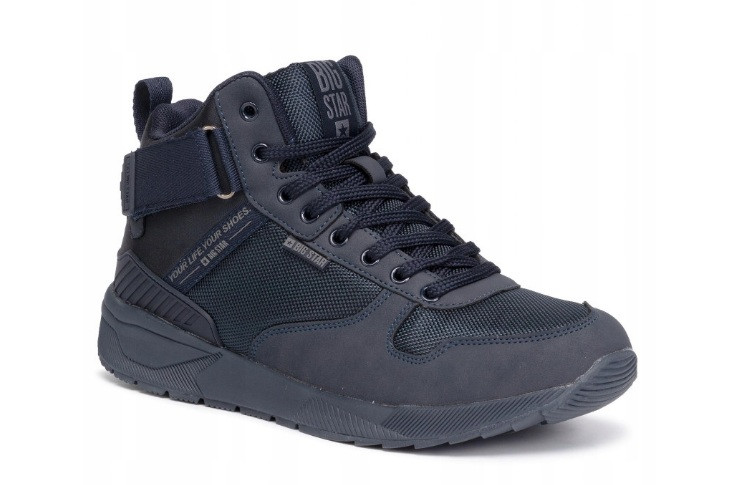 Трекінгові зимові чоловічі черевики ( темно-сині), р. 41-45